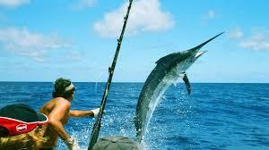 Марлин <b>на крючке</b>: Схватка человека с огромной <b>рыбой</b> - YouTube