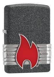 <b>Зажигалка Classic Red</b> Vintage Wrap 29663 (серая, матовая) от ...