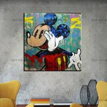 alec monopoly graffiti celebrity portraits canvas painting print living room home decoration modern wall art oil poster