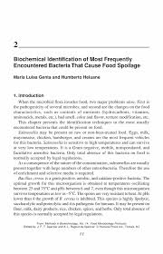 biochemical identification of most frequently encountered bacteria inside