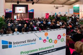 info arena at internetworld info arena at internetworld throughout the day presentations about e commerce subjects were