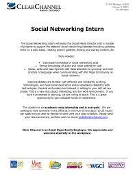 social media resume skills cipanewsletter career objective statementsmarketing social media manager resume