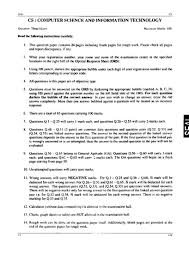 gate aptitude questions studychacha aptitude test papers of computer science and information technology cs it so here i am attaching a pdf file from where you get the question paper