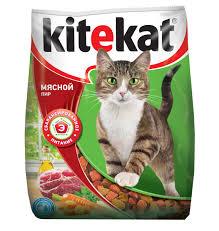 """<b>Корм</b> сухой для <b>кошек</b> """"<b>Kitekat</b>"""", мясной пир, 400 г — купить в ..."""
