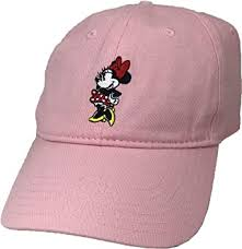 Concept One Women's Disney Minnie Mouse Embroidered <b>Curved</b> ...