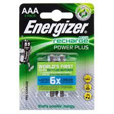 <b>Аккумулятор Energizer Power Plus</b> NH12 BP2 Pre-Ch 700 мА/ч, 2 шт.
