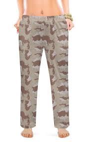 """Женские пижамные штаны """"<b>Современный камуфляж</b>"""" #2615250 ..."""