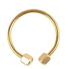 Retro Simple C-shape <b>Handmade</b> Brass Polishing Keychain <b>Car</b> ...