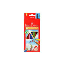 """<b>Faber Castell</b>"" <b>Цветные карандаши</b> JUNIOR GRIP <b>10</b> цв. <b>10</b> шт ..."
