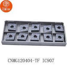 NEW 200pcs <b>CNMG120404</b> -TF CNMG431 IC907 milling <b>carbide</b> ...