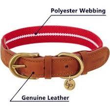 Puppyleague® Thicking Pure <b>Cowhide Dog Collar Pet</b> Chain ...