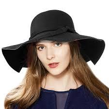 VBIGER Fashion <b>New Women Vintage</b> Wool Round Fedora Cloche ...