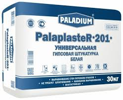 <b>Штукатурка Paladium</b> PalaplasteR-201 <b>Белая</b>, 30 кг — купить по ...