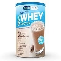 Biochem, <b>100</b>% <b>Whey Protein</b>, <b>Sugar</b> Free, Vanilla, 11.8 oz (336 g ...