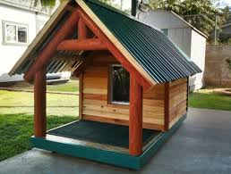 Free shed plans   gambrel roof  build your own dog house lowes    Diy wooden dog house