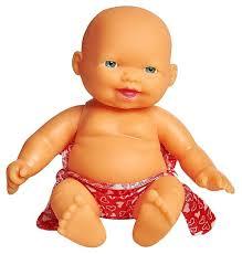 <b>Пупс</b> Lovely <b>baby doll</b> в розовых плавках, 12.5 см, XM629/2 ...