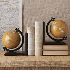 manly office decor. shelf bookends a beautiful set of antique effect globe that will look absolutely stunning on any or bookcase in your home office manly decor l