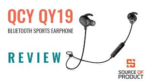 <b>QCY QY19</b> | <b>Bluetooth</b> Stereo <b>Sports</b> Earphone | Bangla Review ...