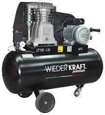 <b>Компрессор</b> масляный <b>WIEDERKRAFT WDK</b>-<b>91053</b>, 100 л, 2.2 кВт ...