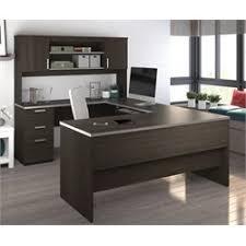 bestar ridgeley u shaped desk in dark chocolate bestar embassy corner desk
