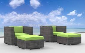 2015 curacao 5pc modern resin wicker outdoor cheap modern outdoor furniture