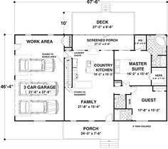 images about House Plans on Pinterest   Log home plans    Floor