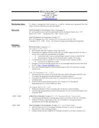 early career resumes template early career resumes