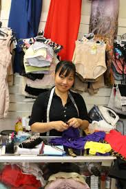 clothes shop assistant