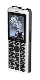 Мобильный <b>телефон MAXVI P20</b> Silver-black