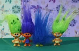 Разноцветные <b>тролли</b>: с синими и зелёными волосами! Серии 2 ...
