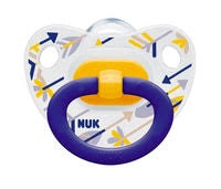 NUK Classic <b>Happy</b> Days <b>Silicone Soother</b> Size 1 | Soothers | <b>Baby</b> ...