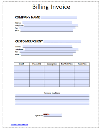 customer invoice template ideas excel sample gst tax  billing invoice template excel pdf word doc service prin customer invoice template template full