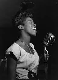 Portrait of <b>Sarah Vaughan</b>, Café Society ca 1946. - William Gottlieb ...