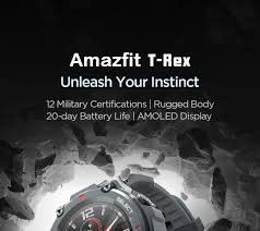 <b>New</b> 2020 <b>CES Amazfit T</b> rex T rex Smartwatch Control Music 5ATM ...