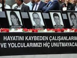 Atatürk Havalimanı'nda hayatını kaybedenler için tören