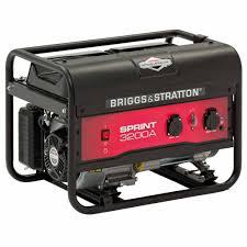 Переносной <b>бензиновый генератор</b> Sprint 3200A | <b>Briggs</b> & Stratton