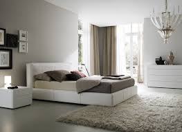 interior bedroom furniture fashionable bedroom design with white master bed with beige mattress and grey floor beige bedroom furniture