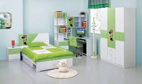 green accent bed set and computer desk set also wardrobe in kids bedroom furniture set bed desk set
