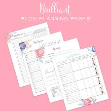 the brilliant business planner printable bussiness planner