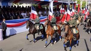 Resultado de imagen para fotos de los actos de la batalla 30 de marzo 2017 en santiago