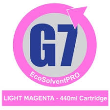 <b>Light Magenta</b>-<b>EcoSolventPRO</b> G7 Ink