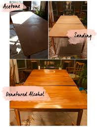 Stripping Dining Room Table Refinishing Vintage Furniture