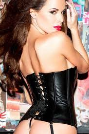 <b>Sexy Leather Lingerie</b> - Corsets, Bustiers, Teddies – LingerieDiva