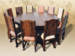 Round Dining Room Table Seats 12 Dining Room Table Seats 12 For Big Family Homesfeed