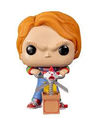 <b>Фигурка Funko POP</b>! <b>Vinyl</b>: Horror: Chucky w/Buddy & Giant Scissors