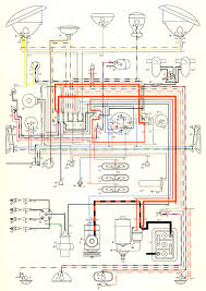 thesamba com type 2 wiring diagrams 1957 nov 1957 turn signal wiring