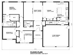 House Floor Plans   No Formal Dining Room Single Floor House