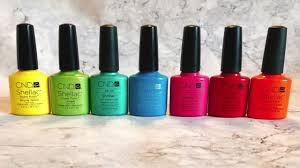 <b>CND Shellac Summer</b> Brights Colour Combinations - YouTube