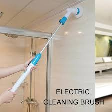 3 pcs/set Turbo Scrub Electric <b>Cleaning Brush</b> Wireless Charging ...