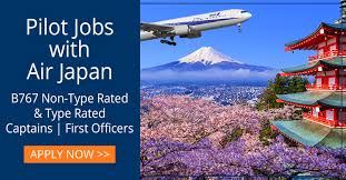 <b>Air Japan</b> Pilot Jobs - Rishworth Aviation